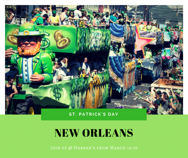 Celebrate St. Patty's in the Big Easy